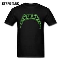Men S T Shirts Metallica Hard Metal Rock Band Youth O Neck Short Sleeved Clothing Cheap