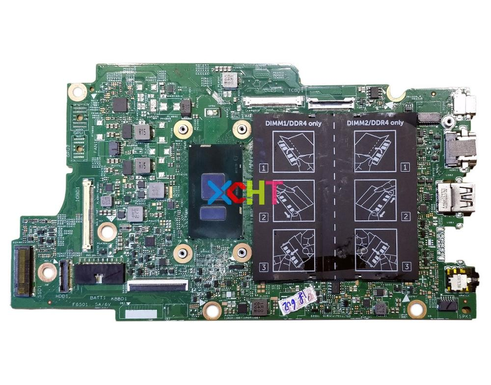 for Dell Inspiron 13 7368 15 7569 X6C95 0X6C95 CN 0X6C95 w i5 6200U CPU 2.3GHz DDR4 Laptop Motherboard Mainboard Tested-in Laptop Motherboard from Computer & Office