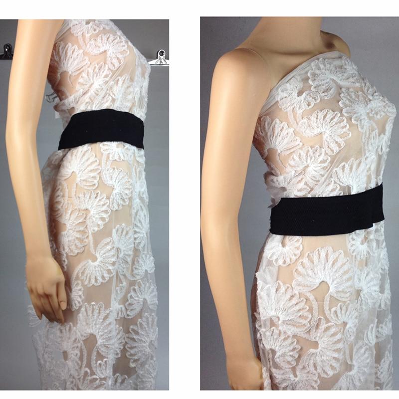 3D Elbise için Afrika Şifon Örgü Dantel Kumaş, 1 Yard 90 * 130 - Sanat, el sanatları ve dikiş - Fotoğraf 5