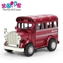 1:32 Bus Legering Auto Speelgoed Trek Diecasts Speelgoed Voertuigen Kleine Model Mini Auto Speelgoed Jongens Brinquedos Verjaardagscadeau Speelgoed voor Kinderen