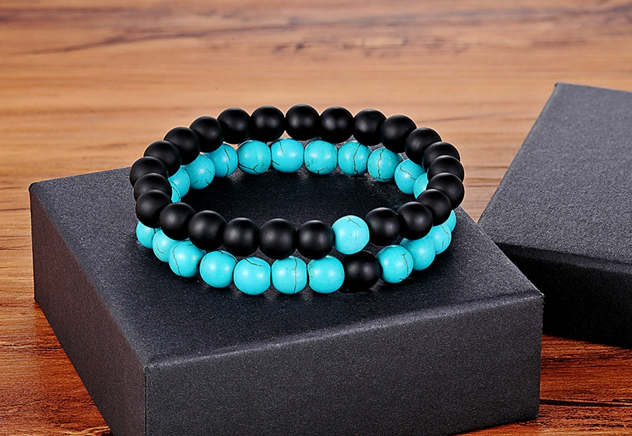 Onyx and Skyblue