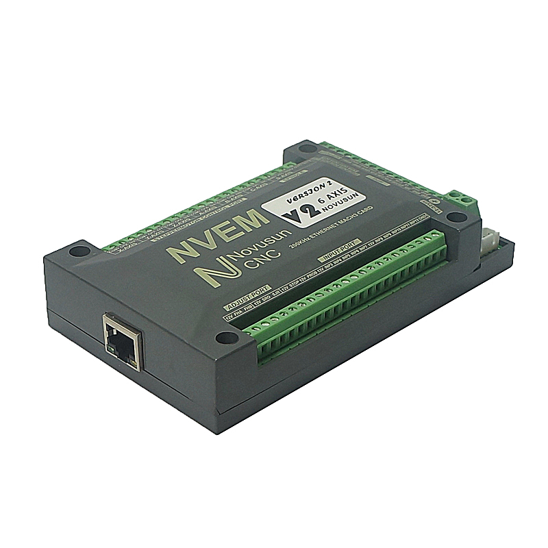 NVEM Mach3 Control Motion Card 200KHz Ethernet Port CNC Controller For  Router 3 4 5 6 Axis
