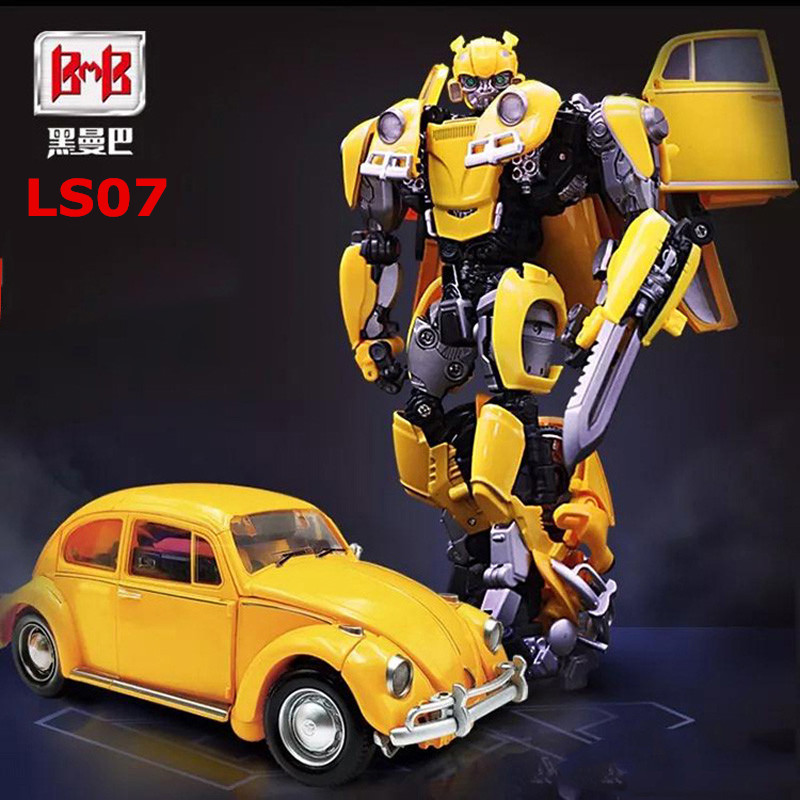 Image 2 - BMB Transformation LS 07 LS07 Bee MPM07 MPM 07 Alloy Metal Movie Film voyager Edition Action Figure Robot Toys Kids GiftsAction & Toy Figures   -