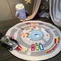 150 cm Multi-função Do Bebê Jogar Mat Playmat Crianças Brinquedo Saco De Armazenamento Não-Inferior deslizamento Carry Portátil Jogando decoração do quarto tapete tapetes