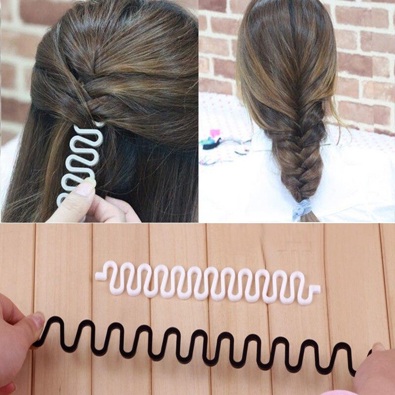 Sale 1 PC Women Fashion Hair Twist Styling Hair Band Accessories Disk Device Hairpins Hair Braiding Tool