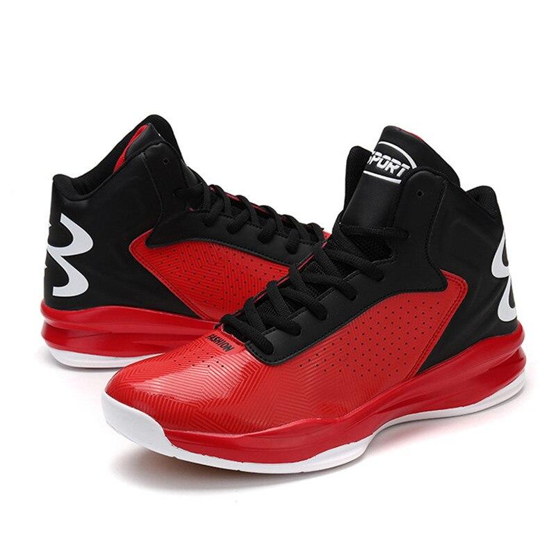Les nouveaux hommes chaussures de basket-ball anti-dérapant usure et stabilité soutien chaussures de sport de haute qualité basket-ball taille 39-46