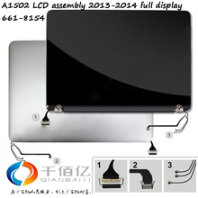 Original A1502 LCD assembly 2013-2014 for Macbook pro retina 13′ full display 661-8154 tested