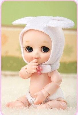 bjd doll sd / fl / ai / cb / 1/8 bjd doll soom NAPPY CHOO BB baby girl