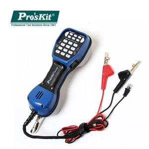 Image 1 - Proskit MT 8100 Su Geçirmez Telefon Test Cihazı Haberleşme Kontrol Hattı Iletişim Ağ Kablosu Test Cihazı Avı Enstrüman Kontrol