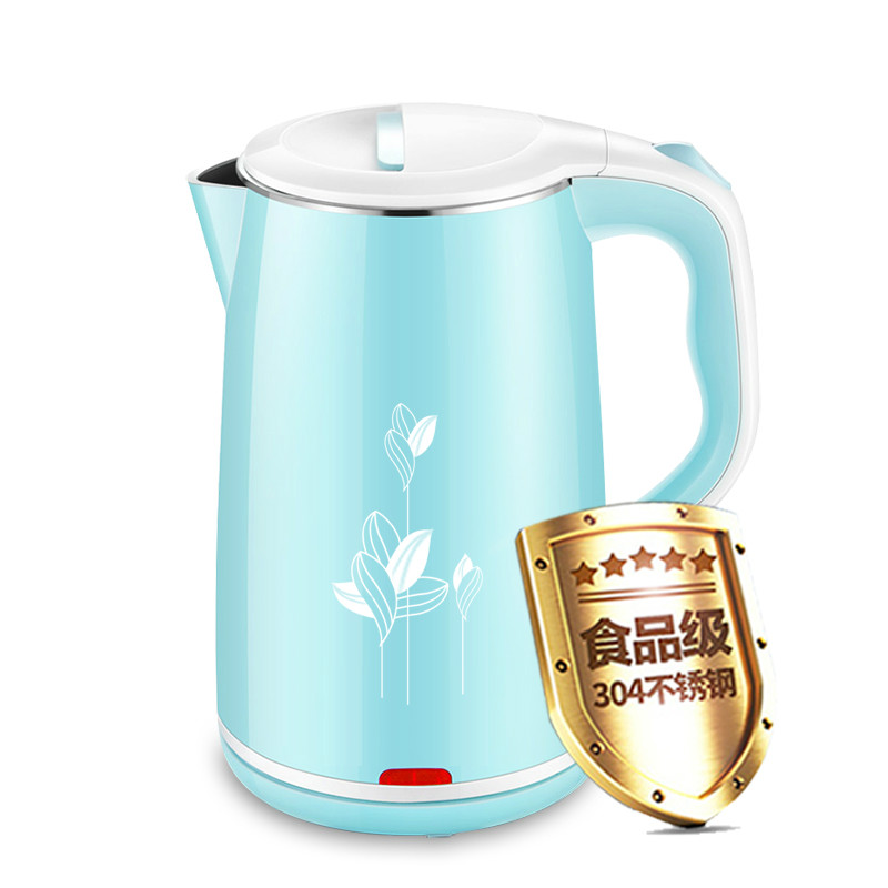 Electric kettle food grade 304 stainless steel anti-ironing household boiler automatic power off free shipping automatic electric food grade 304 stainless steel electric kettle hot insulation automatic prevent parch