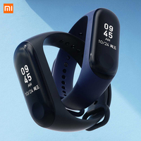 Original Xiaomi Mi band 3 Xiomi Heart Rate Monitor Bluetooth 4.2 Smart Sport Bracelet OLED Miband 3 Smartband Multi Color Straps Consumer Electronics
