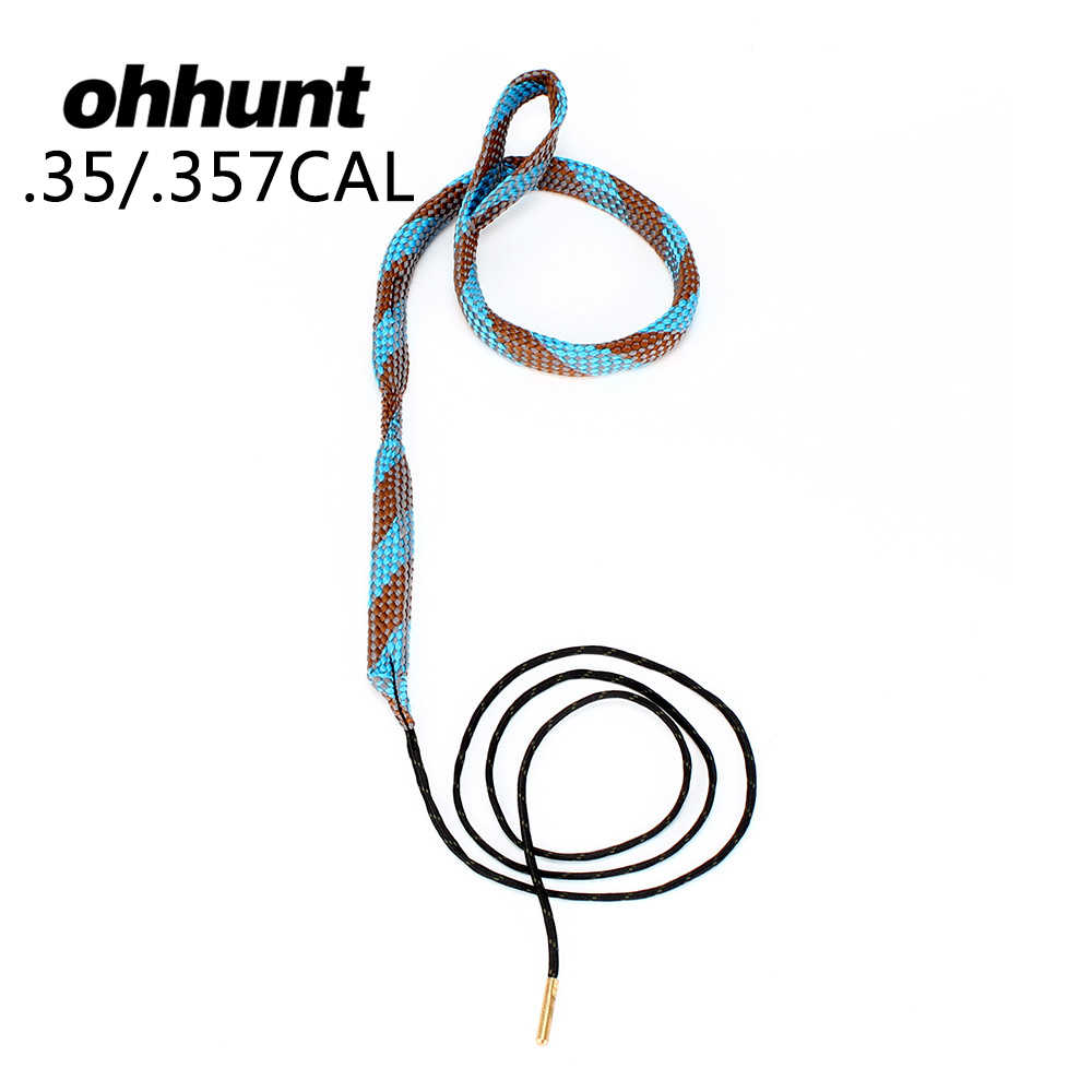 Ohhunt Boring Snake. 35. 350. 357 358 375 Cal GA Gauge Boresnake Shotgun Barrel Brons Cleaner Kit Jacht Tactical Gun schoonmaken