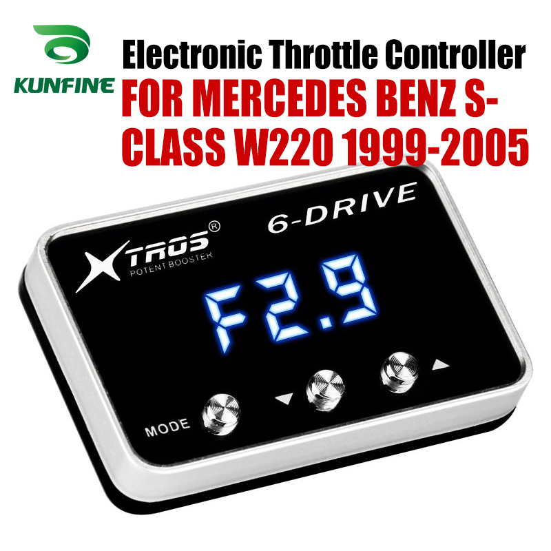 Car Electronic Throttle Controller Racing Accelerator Potent Booster For MERCEDES BENZ S-CLASS W220 1999-2005 Tuning Parts Car Electronic Throttle Controller Racing Accelerator Potent Booster For MERCEDES BENZ S-CLASS W220 1999-2005 Tuning Parts