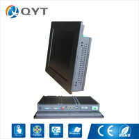 Customized And Optional Industrial Computer 2 RJ45 Touch Screen Panel Pc All In One With 8GB