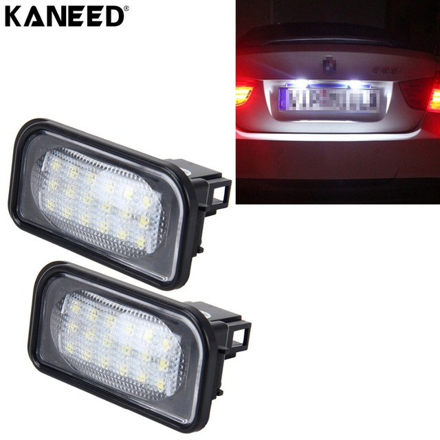 Aliexpress.com : Buy KANEED Licence Light For Mercedes Benz W203 4D ...