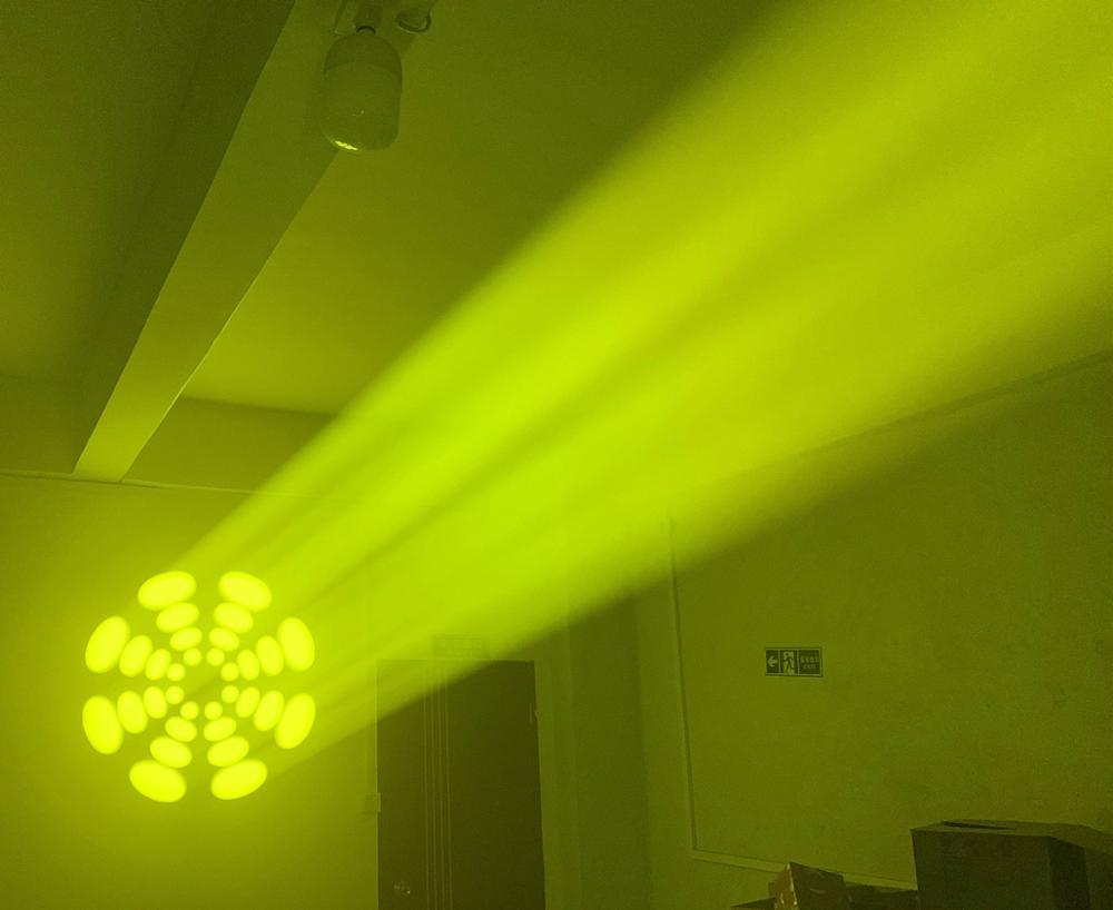 Image 5 - 60W LED Spot Moving Head Light 65W LED DJ Beam Light LED Spot Light with gobo&color wheel Disco DJs Equipmentnt-in Stage Lighting Effect from Lights & Lighting