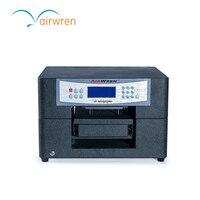 Digitale textiel printer a4 t-shirt drukmachine met witte inkt