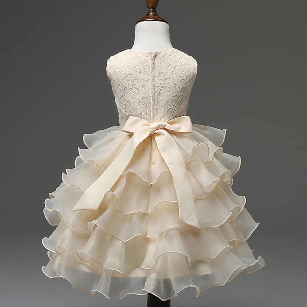 cd22c8e1c4 Cute Baby Dress Wedding Party Rhinestones Embellished Red Pink Beige Royal  Blue Clothing Toddler Flower Girls Cupcake Dress