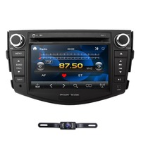 2Din Car DVD Player Radio for Toyota RAV4 Rav 4 2006 2007 2008 2009 2010 2011 2012 800*480 GPS Navigation SWC Bluetooth DAB CAM