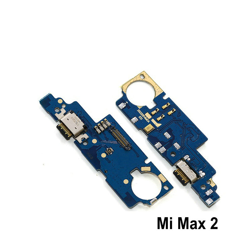 New Microphone Module+USB Charging Port Board Flex Cable Connector Parts For Xiaomi Mi Max Max2 Max 3 Replacement