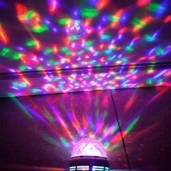 Z50 Litwod светодиодный маленький магический шар сценический свет Красочные вращающаяся мигалка кристалл магический шар 3 Вт лазерный свет