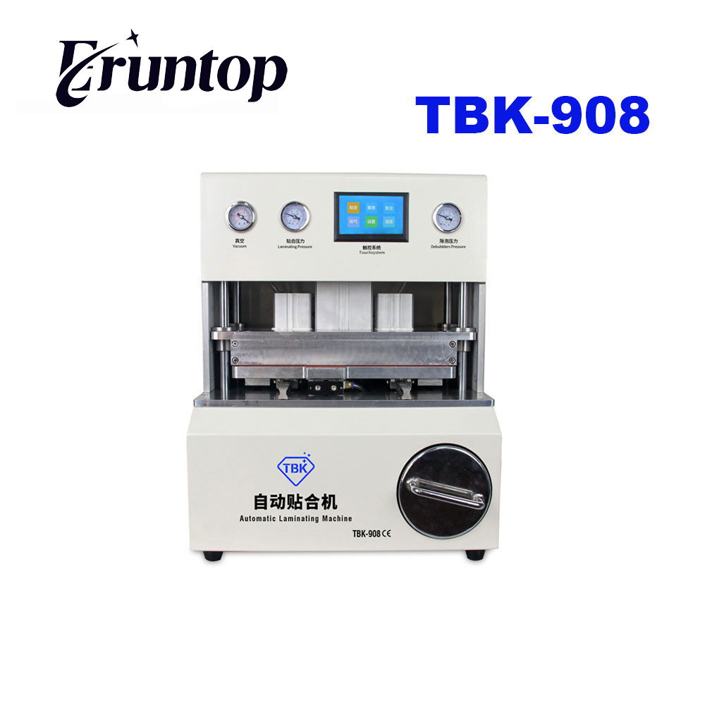 TBK-108 7 inch Straight Screen Press for Sumsung Edge S6 S6+ S7 LCD OCA Vacuum Laminating Machine tbk 708 for curved screen oca lcd laminating machine for s6 edge s7 edge bubble remover built in vacuum pump air compressor