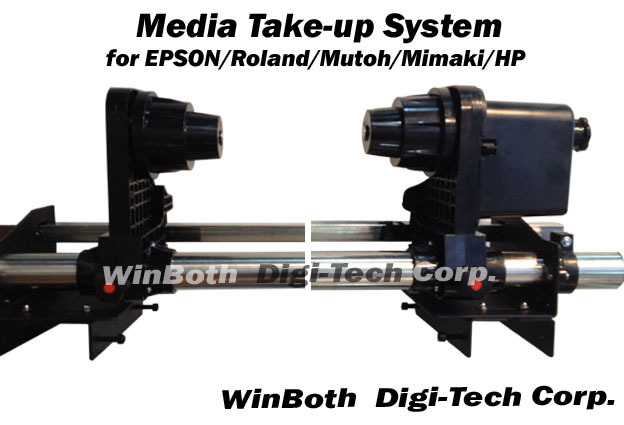 Automatical Media Take up system for Mutoh VJ1304 printer automatical media take up system two motors for mimaki jv33 64 inch wider printer