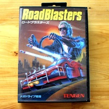 Road Blusters 16 Bit MD Game Card with Retail Box for Sega MegaDrive & Genesis Video Game console system