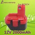 12V 2.0AH Replacement tool battery For BOSCH GSR 12V GLI 12V AHS GSB GSR PSR 12 12VE BAT043 BAT045 BAT046 BAT049 BAT120 BAT139