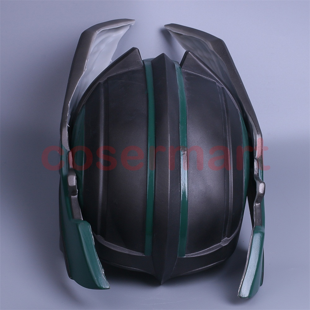2017 Thor 3 Ragnarok Helmet Cosplay Thor Helmet PVC Mask Handmade Halloween Mask Caps New (7)