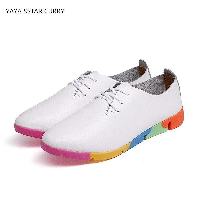 Prix pour YAYA ÉTOILES CURRY 2017 nouveau petit blanc chaussures foncé doux anti-dérapage chaussures