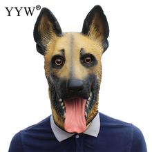 Animal Realistic Latex Mask Funny Dog Head Masks Mascaras Crazy Party Maske Kids Halloween Masquerade Prank Masker