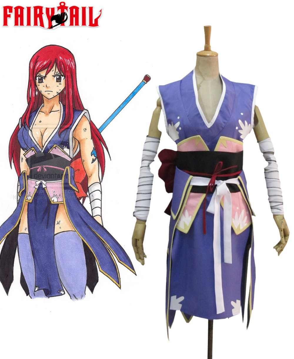 Free Shipping Fairy Tail Titania Erza Scarlet Forever