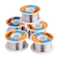 5pcs Welding Wire 0 2 0 3 0 4 0 5 0 6mm Solder Tin Wire