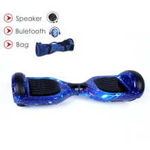 6.5 inch Standing drift skywalker smart electric scooter 2 wheels skateboard unicycle overboard oxboard hoverboard