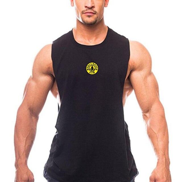 baa7cd84abd66 Anime Dragon Ball Z Men s Tank Top Super Saiyan Goku Drop Armhole Vest  Summer Muscle Sleeveless Shirt Solid Fitness Singlets