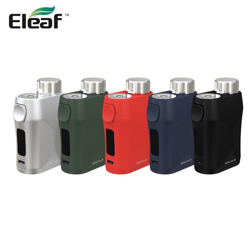 Original Cigarettes Électroniques Mod Eleaf iStick Pico X 75 w Boîte Mod 510 Fil 0.69 Pouces support écran TC-Ni /Ti/SS/M1/M2/M3 mode