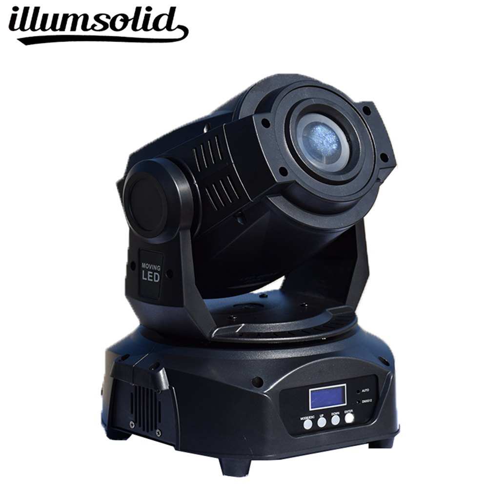 Hot 90w Led Moving Head Spot Stage DJ Spot Light Dmx 512 Lighting For Music Evening
