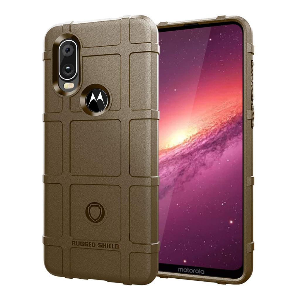 Image 5 - Conelz For Motorola One Vision Case TPU Case Cover Shockproof Amor Case Rugged Shiled Case