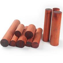 Afrykański Padauk palisander kołki rozporowe drewno drewno toczenie blanki zaokrąglona pałeczka dostosowane rozmiary tanie tanio Niedokończone Drewna