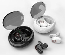 Bluetooth 5.0 Headset TWS V5 Wireless Earbud with Handsfree Stereo Music QI-Enabled With Charging Box IPX5 Waterproof