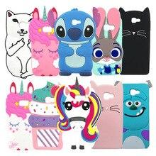 For Samsung Galaxy J5 Prime Case Cover Cute Cat Tiger Stitch Unicorn 3