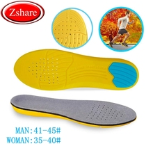 1Pair Sport Insoles Memory Foam Mezzanine Insole Sweat Absorption Pads Running Sport Shoe Inserts Breathable Insoles