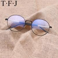 TFJ 2017 Newest Punk Style Eye Glasses Frames For Men Fashion Metal Glasses Frames Women Retro