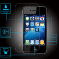 Free Shipping 9H Premium Tempered Glass Screen Protector For Apple iphone 4 4s + Cleaning Kit