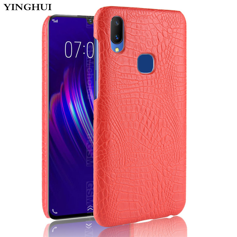 New arrival Vivo Y95 Case VIVO Y95 Case Luxury Crocodile Skin Case Cover For Vivo Y95 Y 95 VivoY95 Phone Bag Case