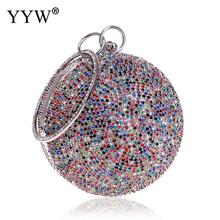 Diamond Women Party Metal Crystal Clutches Evening Bags Wedding Bag Bridal Crossbody Shoulder Handbag Wristlets Clutch Purse day clutches elegant lady messenger bags for women clutch evening bag casual party purse beaded wedding handbag zh b0321