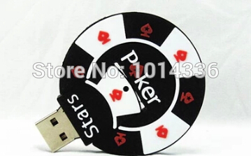Black Poker Stars 4GB 8GB 16GB 32GB usb flash drive 2.0 Memory Drive Stick Pen Thumb/Car/Pen 2.0 Pendrive#21