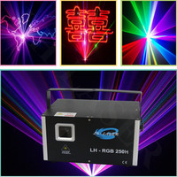 new arrival 3.5w RGB laser animation scanner projector DMX Stage DJ lighting Dance Show bar disco Party Light Show system