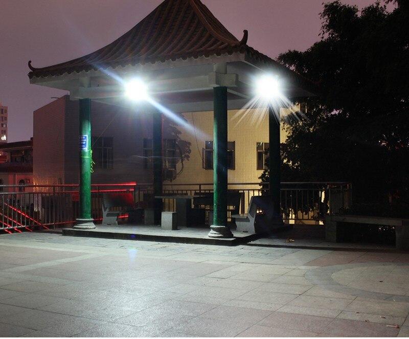 36W 60W 80W 100W SMD5730 éclairage LED LED capteur à énergie solaire lumière de sécurité extérieure jardin lampe d'inondation étanche blanc froid - 6